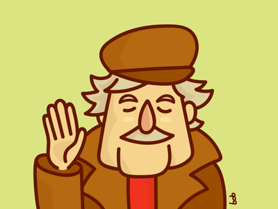 Pepe Mujica pepe mujica uruguay president cartoon illustration old man