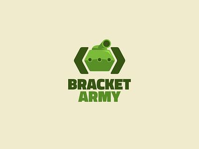 Bracket army   logo