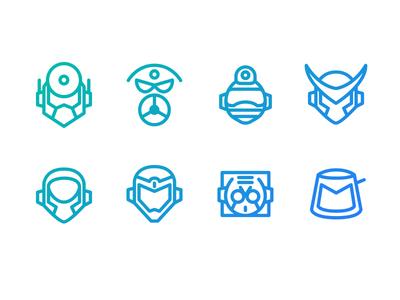 """""""Mega Man 2"""" Mega Minimal Iconset"""