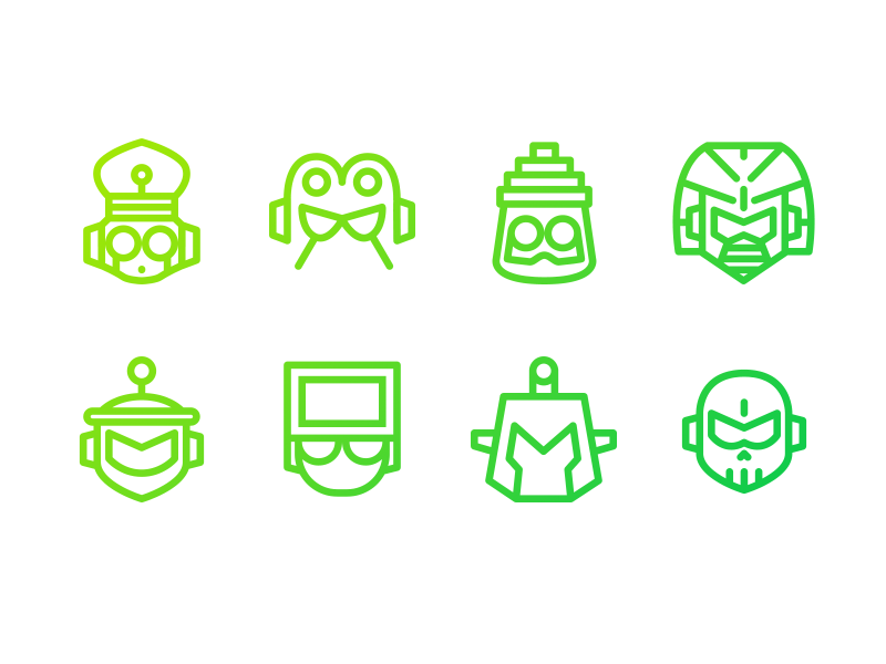"""Mega Man 4"" Mega Minimal Iconset mega man vector nes game robot boss iconset icon"