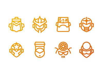 """Mega Man 5"" Mega Minimal Iconset mega man vector nes game robot boss iconset icon"
