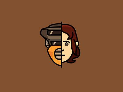 Return of the Jedi: Leia icon bounty hunter star wars return of the jedi leila movie icons icon
