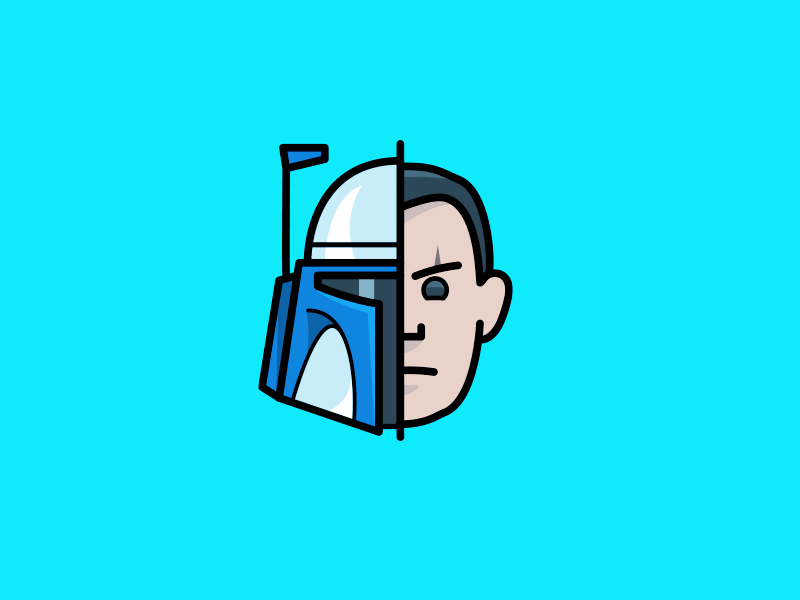 Attack of the Clones: Jango Fett icon jango fett star wars attack of the clones helmet clonetrooper movie icons icon