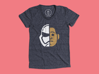 Finn t-shirt at Cotton Bureau