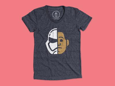 Finn t-shirt at Cotton Bureau