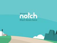 Notch's main banner