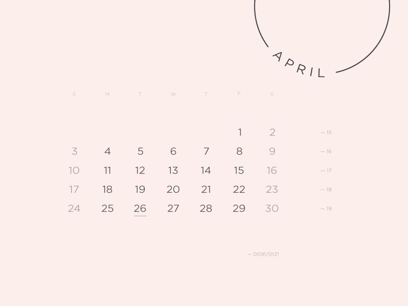 Calendar Project calendar