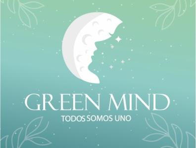 GREEN MIND branding agency logo design branding logo mark