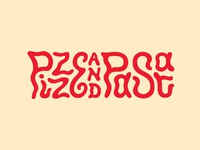 Pizze Party aptos santa cruz mentone italian font pasta pizza restaurant california typography