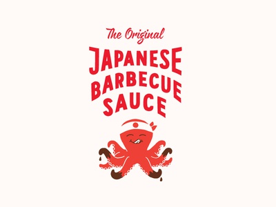 Bachans packaging japan illustration sea octopus sauce barbecue japanese bachans
