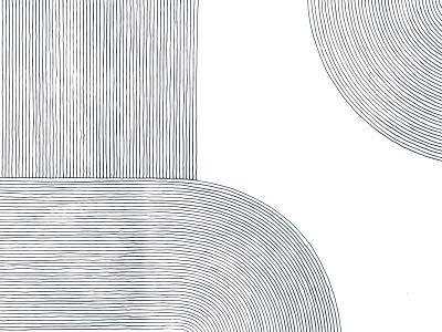 M. Georgina Texture navy california lineart line illustration paper menu restaurant los angeles dtla mgeorgina