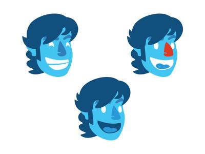 Faces face avatar vector illustration