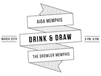 Aiga Memphis Drink and Draw