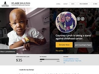 St. Jude Walk Fundraising Page
