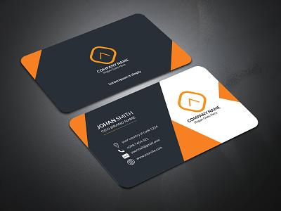 Corporate Business Card Design For Identity card visitingcard business card graphicdesign business stationery designs branding design brand identity brand design design branding