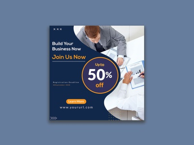Social Media Banner Template Design business advertising ads black friday sale fashion banner marketing agency marketing web templates branding design banner vector discount graphicdesign ad banner social media sale banner banner design brand design branding design