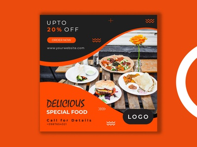Food Offer Post Web Banner pizza mexican italian instagram sale instagram banner instagram healthy food duotone discount desserts dessert deal coffee cafe burger beverage banners banner