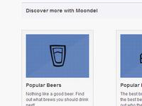 Moondel Homepage