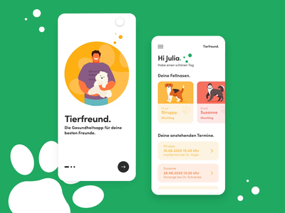 Animal Health Care App mobile apps pet health care app pets app animal app animal health care animal care mobile app user experience ux user interface user experience ux designer ux ui designer ux ui design uiux ui  ux ui uidesign interface design neuland