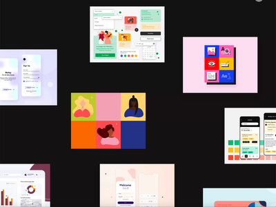 2020 in review illustrations interfaces ux designer ui designer digital design app ui rewind screendesign app design webdesign ux design uxdesign ui design uidesign ui  ux ui byebye2020 2020review review design