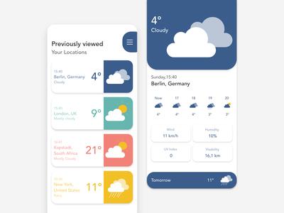 Simple weather app