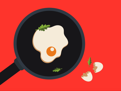 wlan fried egg cooking art cooking illustration fried egg simple animation simple animation minimalistic computer art vector illustration vector design illustrations illustration digital illustration design illustration art illustration