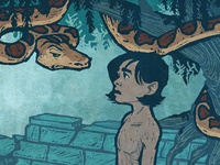 Mowgli & Kaa