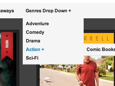 Reviewer WP Theme Drop Down Menu drop down wordpress clean theme