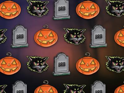 Classic Halloween Pins