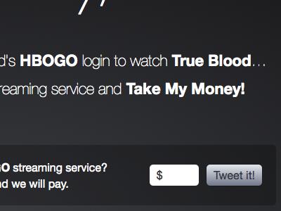 Take My Money, HBO! hbo twitter viral