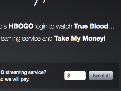 Take My Money, HBO! hbo twitter viral