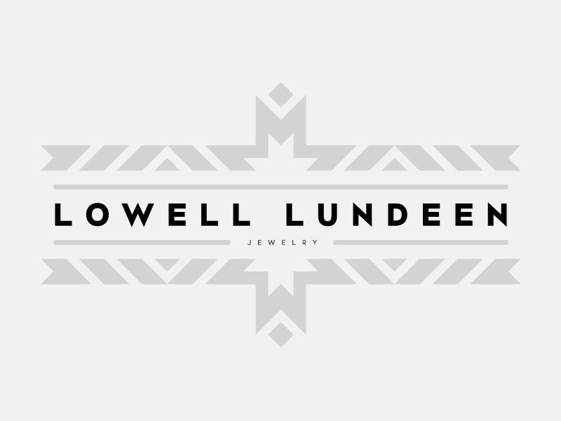 Lowell Lundeen V1 typography design branding logo