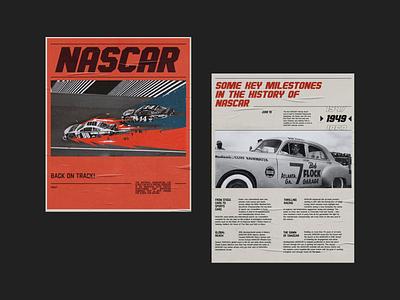 Nascar (new website 2020) website design redesign racing nascar typogaphy ui design ux design ux  ui web design