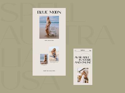 Spell (e-commerce) online store e-commerce redesign website design web design ux  ui ux design ui design typogaphy