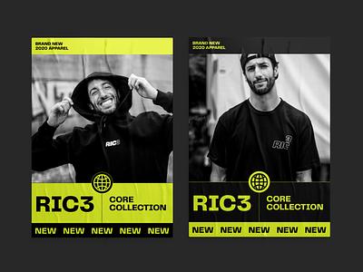 RIC3 graphic design daniel ricciardo racing web design ux  ui ux design ui design typogaphy