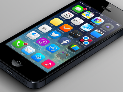 iOS 7 Refinements - Home iphone ios ios 7 apple icons apps ios7