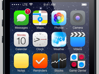 iOS 7 Refinements - Icons