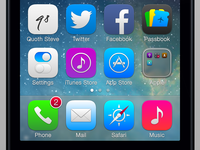 iOS 7 Refinements - Icons II