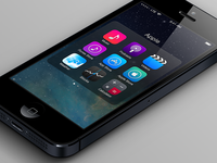 iOS 7 Refinements - Folders