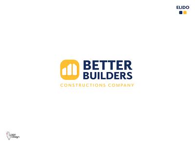 Day 45 | Construction Company. construction company construction logo construction brand design design brand dlc dailylogo daily logo challenge logo design logodesign logo dailylogochallenge
