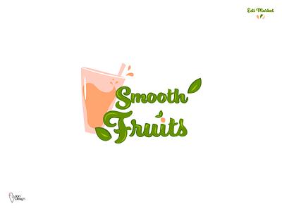 Day 47 | Smoothie Company. fruits handlettering smoothie logo smoothies smoothie smooth brand design design brand dlc dailylogo daily logo challenge logo design logodesign logo dailylogochallenge