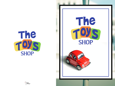 Toy Store, Mockup. advertising toy store logo toys store toy store toys toy brand design design brand mockup dailylogo dlc daily logo challenge logo design logodesign logo dailylogochallenge