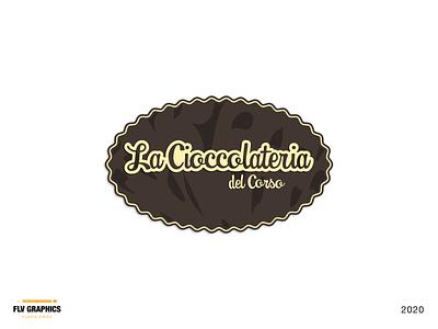 La Cioccolateria del Corso chocolate logo chocolate logo design branding branding concept logo inspiration brand identity branding dailylogo design brand design logo design brand logodesign logo