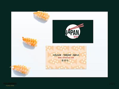 Japan Food, Sushi Restaurant | Mockup restaurant logo restaurant sushi logo sushi japan business card businesscard mockup design dailylogo branding design logos mockup brand identity branding brand design design logo design brand logodesign logo
