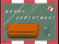 Christmas postcard | F.R.I.E.N.D.S