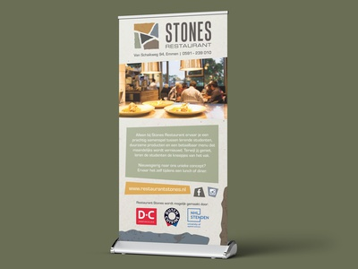 Roll-up Banner banner nature sustainability restaurant roll-up banner