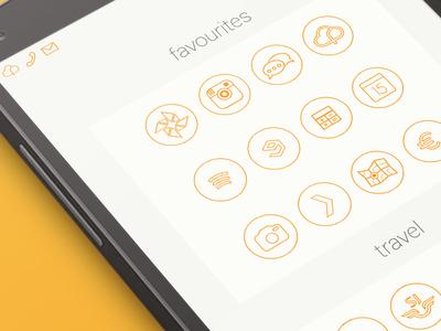 Nexus OutlinedX Icons Part 2