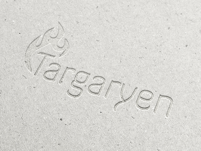 House Targaryen Rebranding game of thrones rebranding targaryen logotype concept