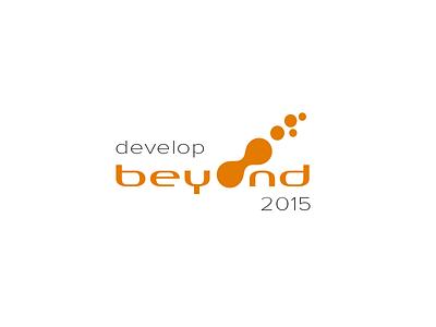 Develop Beyond Logo future dots orange developer conference develop beyond logo