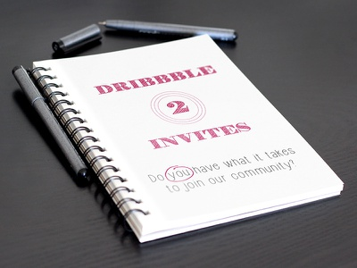 2 Dribbble invites! the holy grail ticket to paradise dribbble invites